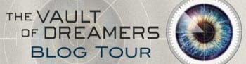 Vault of Dreams BlogTour Banner