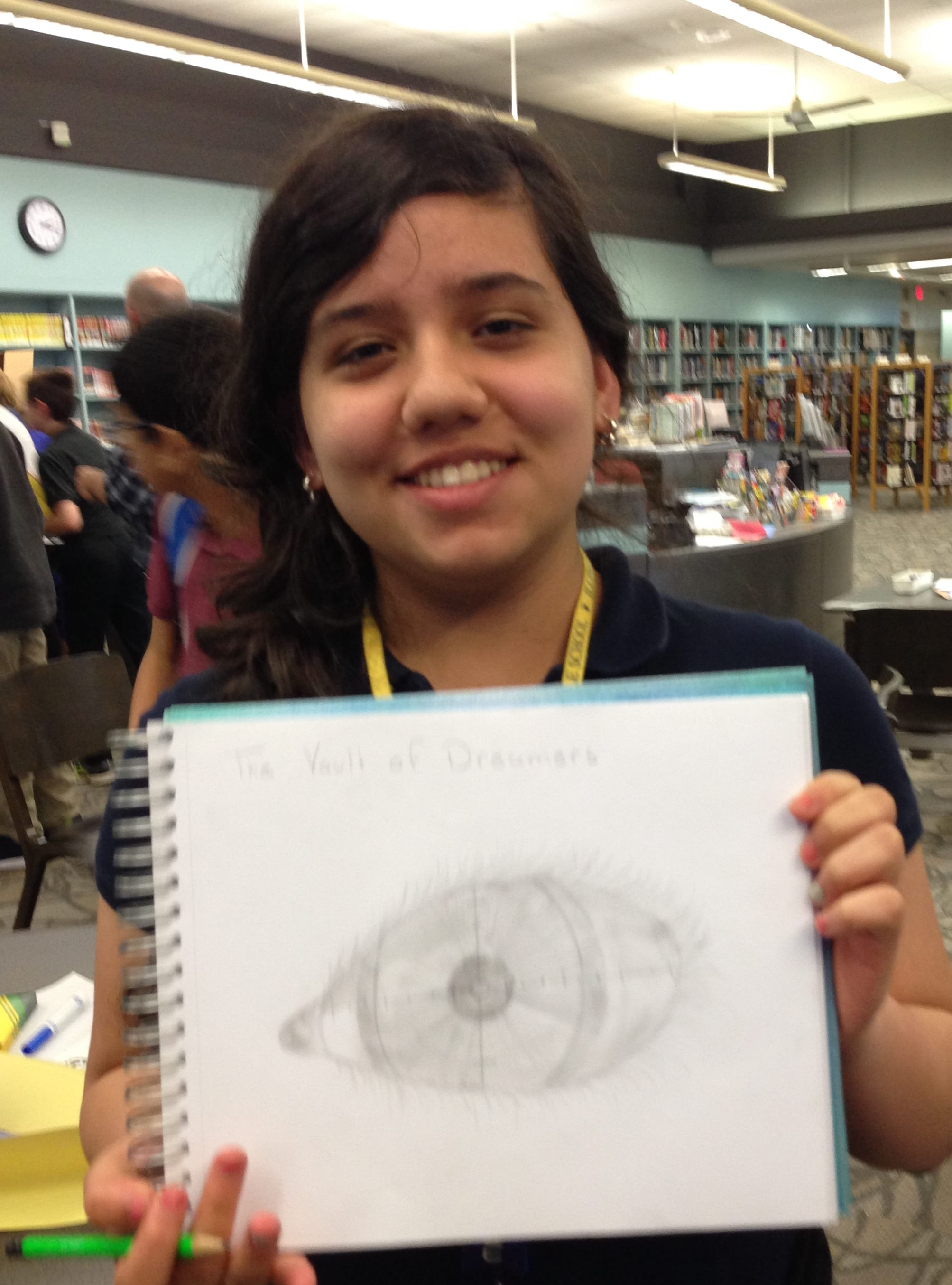 Artist S. H. shares her drawing inspired by The Vault of Dreamers.
