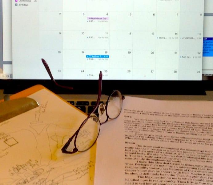 writer tips for organization