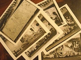 Postcards of Guernica