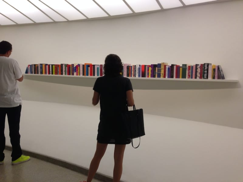 At the Guggenheim, 2015