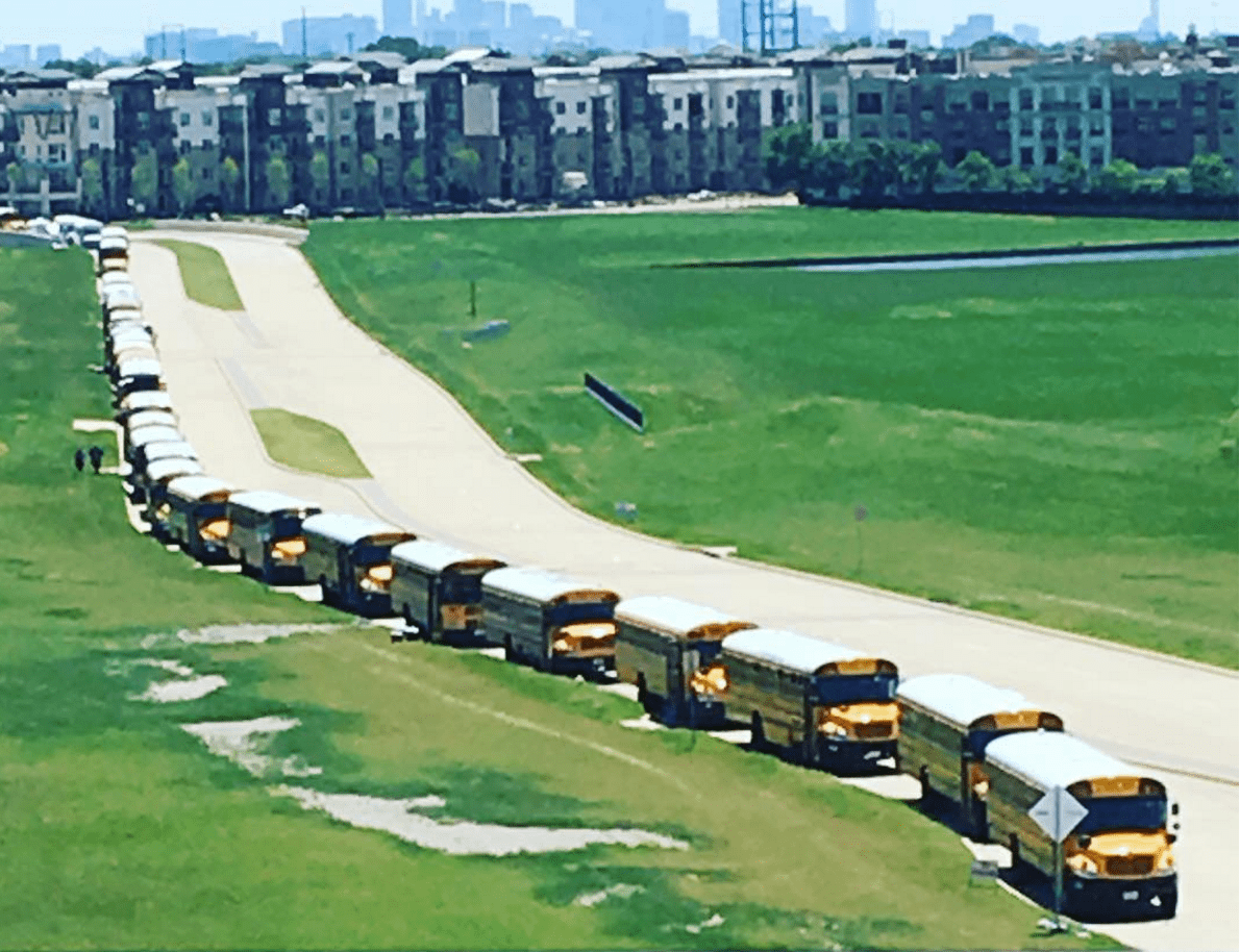 Nearly 8,000 readers came by the busload to Irving, TX for the NTTBF16. Photo credit: Jennifer Mathieu