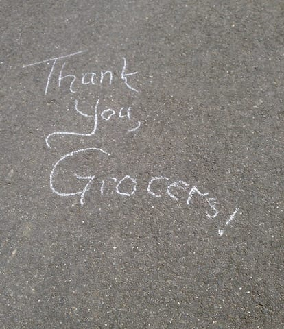 Thank you, Grocers!